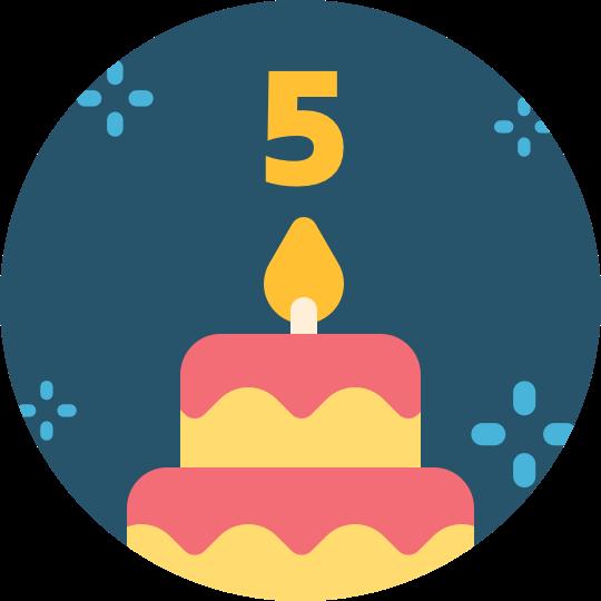 5.Years